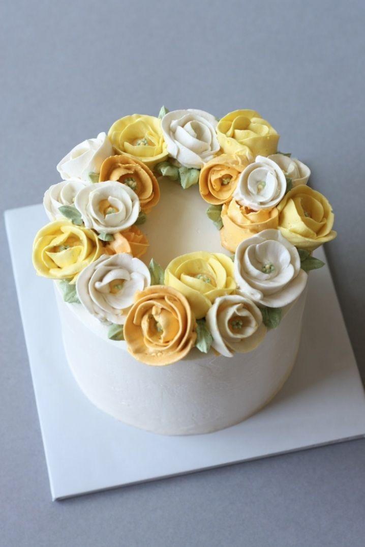 Blog Eat Cake Be Merry Custom Cakes New York New Jersey Butter Cream Buttercream Cake Buttercream Flower Cake