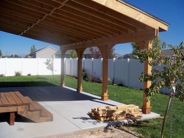 building an attached patio cover patio cover attached to house houses we love pinterest patios - Covered Patio Designs