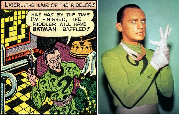The Riddler AKA Frank Gorshin ®....{T.R.L.} Batman