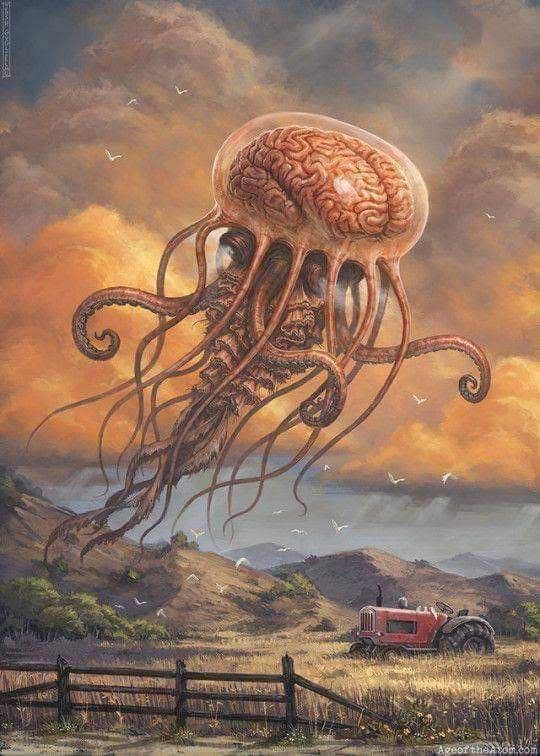 A Lovecraftian Landscape By Josh Guglielmo Lovecraftian