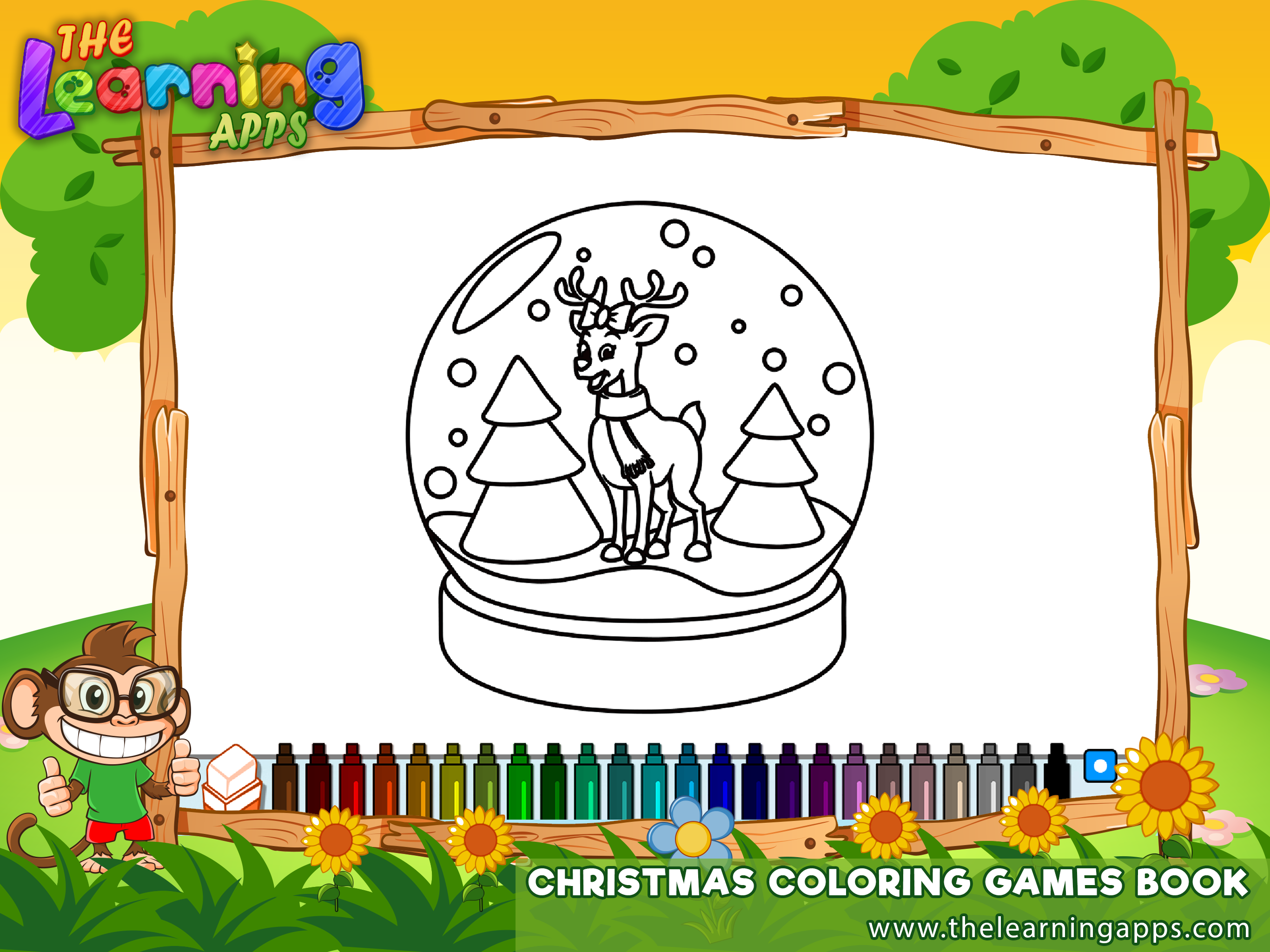 This Christmas Coloring Games Book Will Help Your Child To