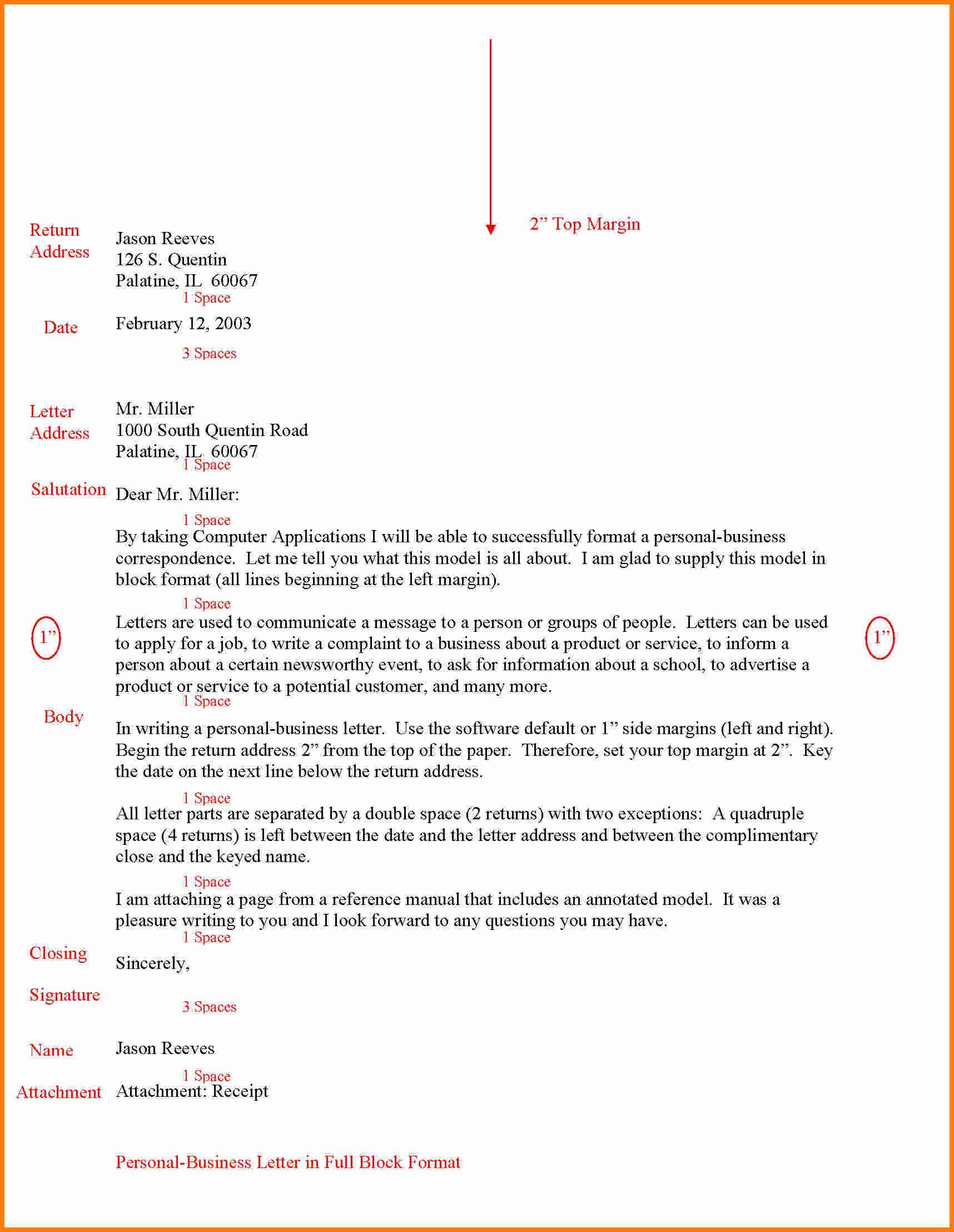 Letter format full block ledger paper style sample application letter format full block fullblockbusinessletterexg business sample gif best free home design idea inspiration spiritdancerdesigns Images