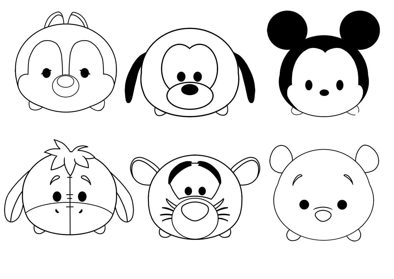 Tsum Tsum Coloring Pages Daisy Tsum Tsum Coloring Pages Mickey Coloring Pages Coloring Pages