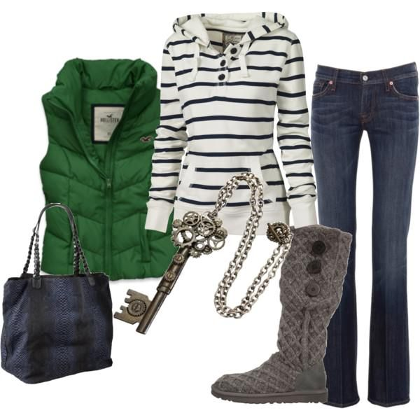 Perfect outfit for chilly fall football games