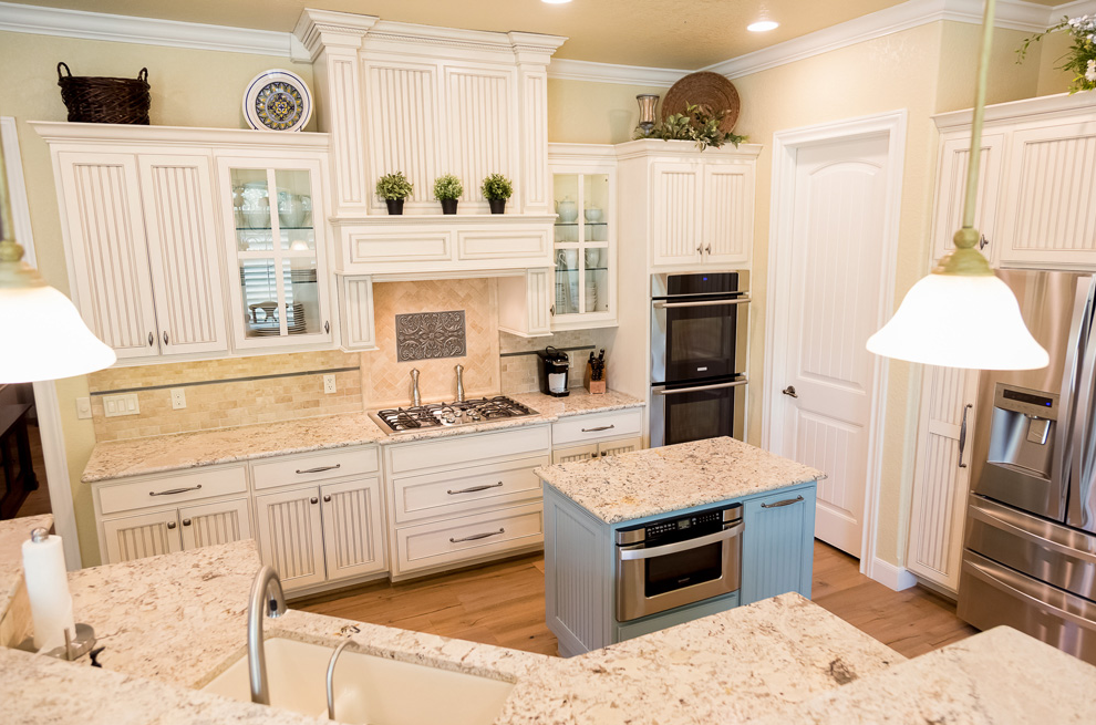 White Springs Granite - Countertops - Kitchen - San ... on Farmhouse Granite Countertops  id=12405