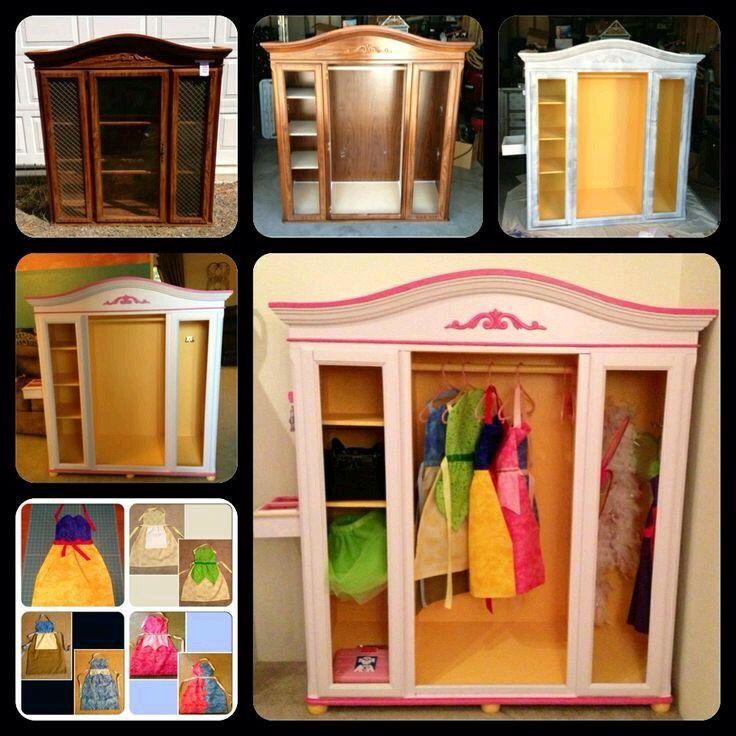 Diy Dress Up ClosetPrincess