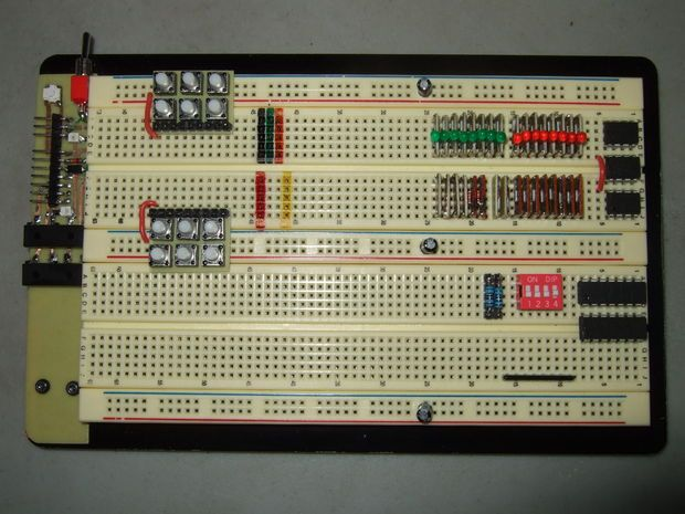 Digital Power Supply Basic Electronics Project Basic Electronics