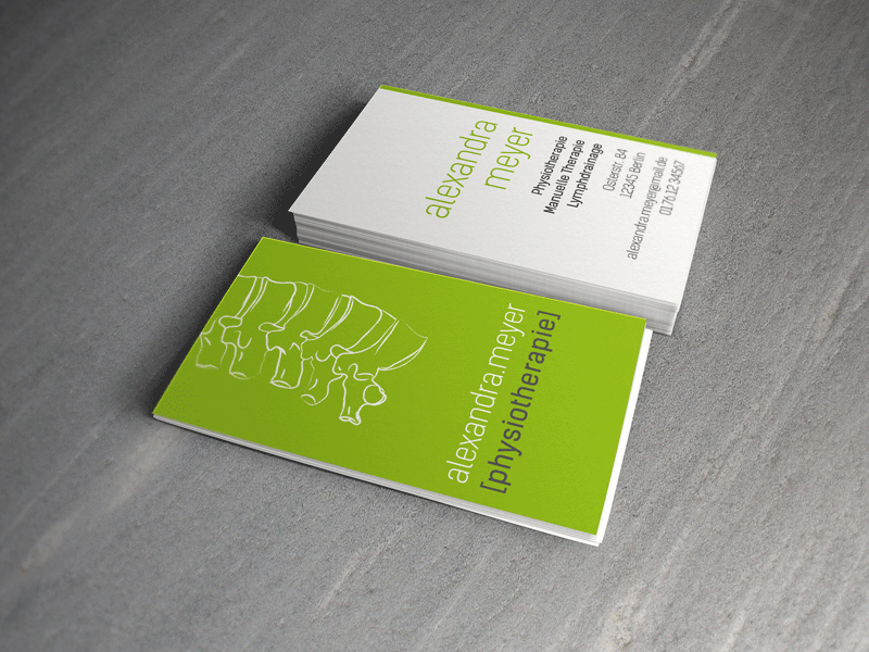 Business Card For A Physical Therapist Physical Therapy Business Presentation Cards How To Stay Healthy
