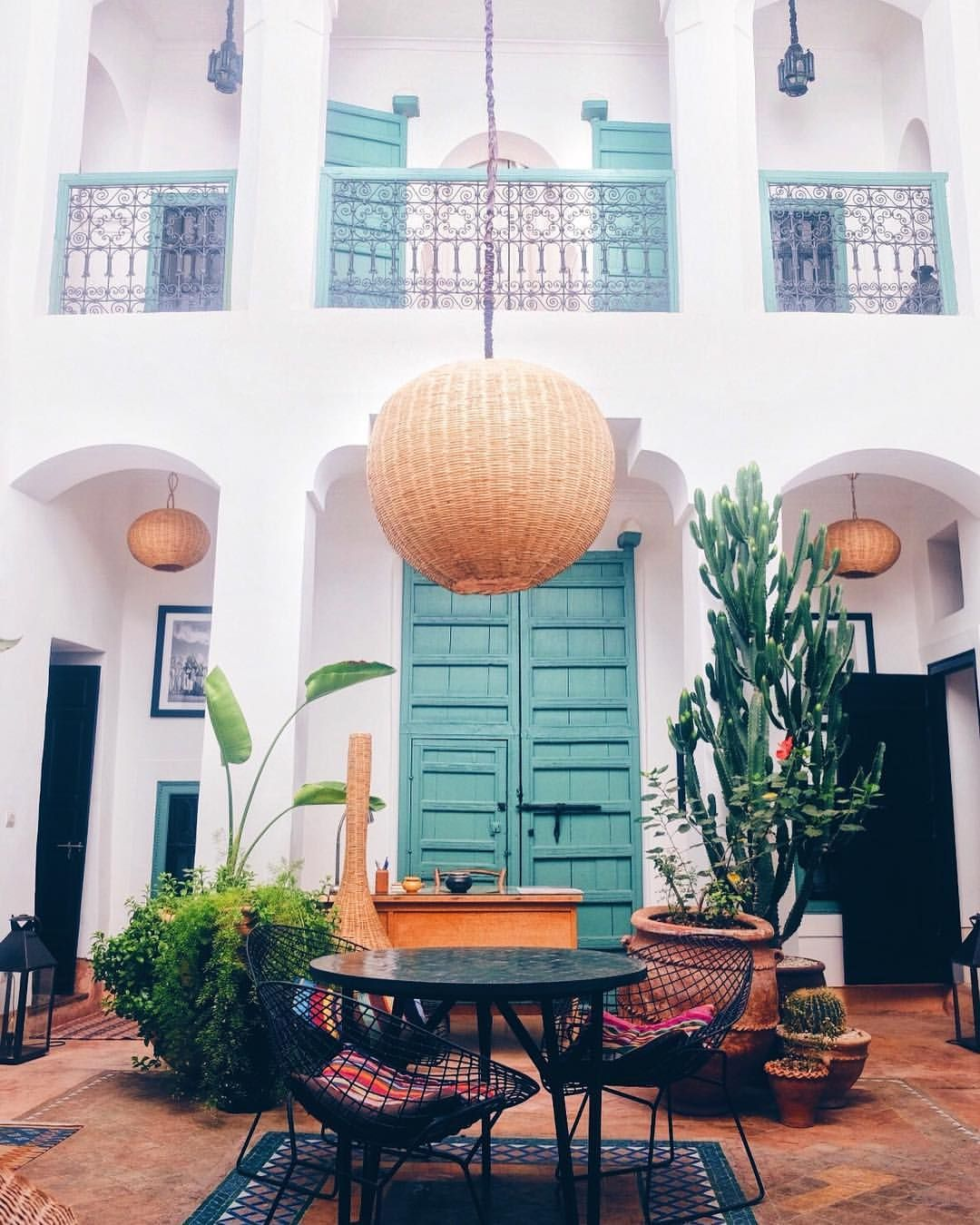 Places to stay in Marrakech   L'Oranger de la Medina riad