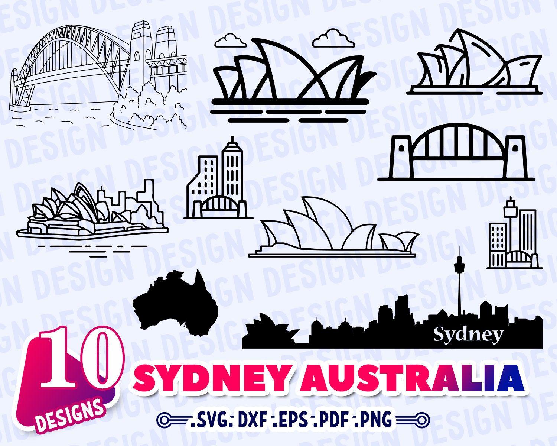 Sydney Australia Svg Australia Sydney Sydney Skyline Svg Etsy Sydney Skyline Sydney Australia Home Tattoo [ 1200 x 1500 Pixel ]