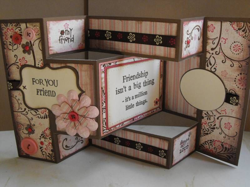 Best TriShutter Cards Images On   Folded Cards Tri