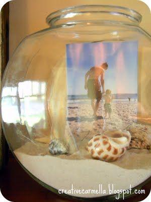 sand and shells. <3