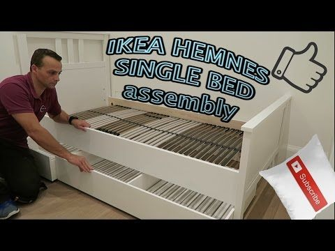 Ikea Hemnes Bed Assembly You, Ikea Hemnes Queen Bed Frame Assembly