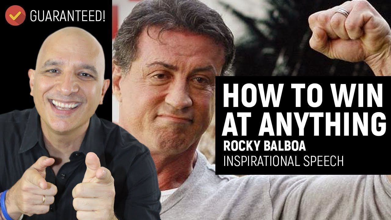 How to win at anything guaranteed sylvester stallone
