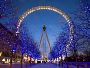The London Eye at Twilight