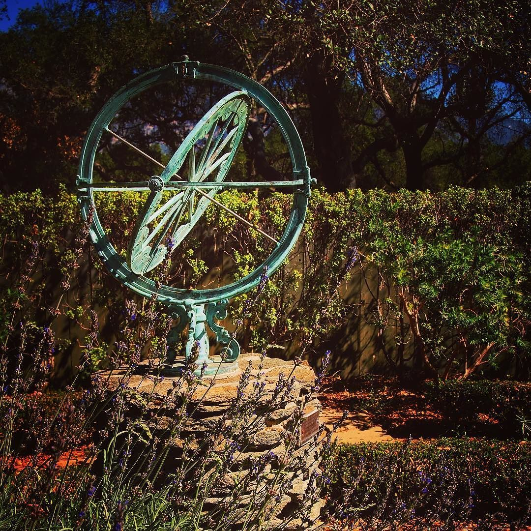 Sundial in the garden @descansogardens #garden #gardenersnotebook ...