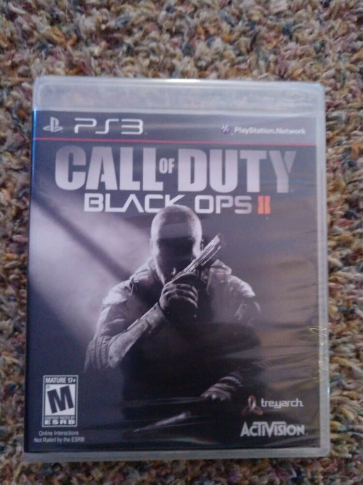 Call Of Duty Black Ops Ii Sony Playstation 3 Ps3 Brand New Ps4