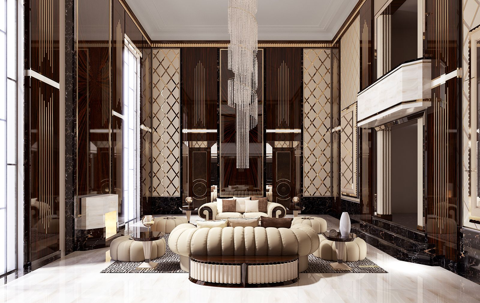 Orion Collection Turriit Luxury Italian Living Room Furniture