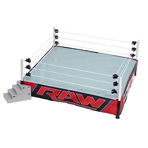 ef589a537469 WWE Authentic Scale Ring- RAW Edition in Toys & Hobbies, Action Figures,  Sports | eBay