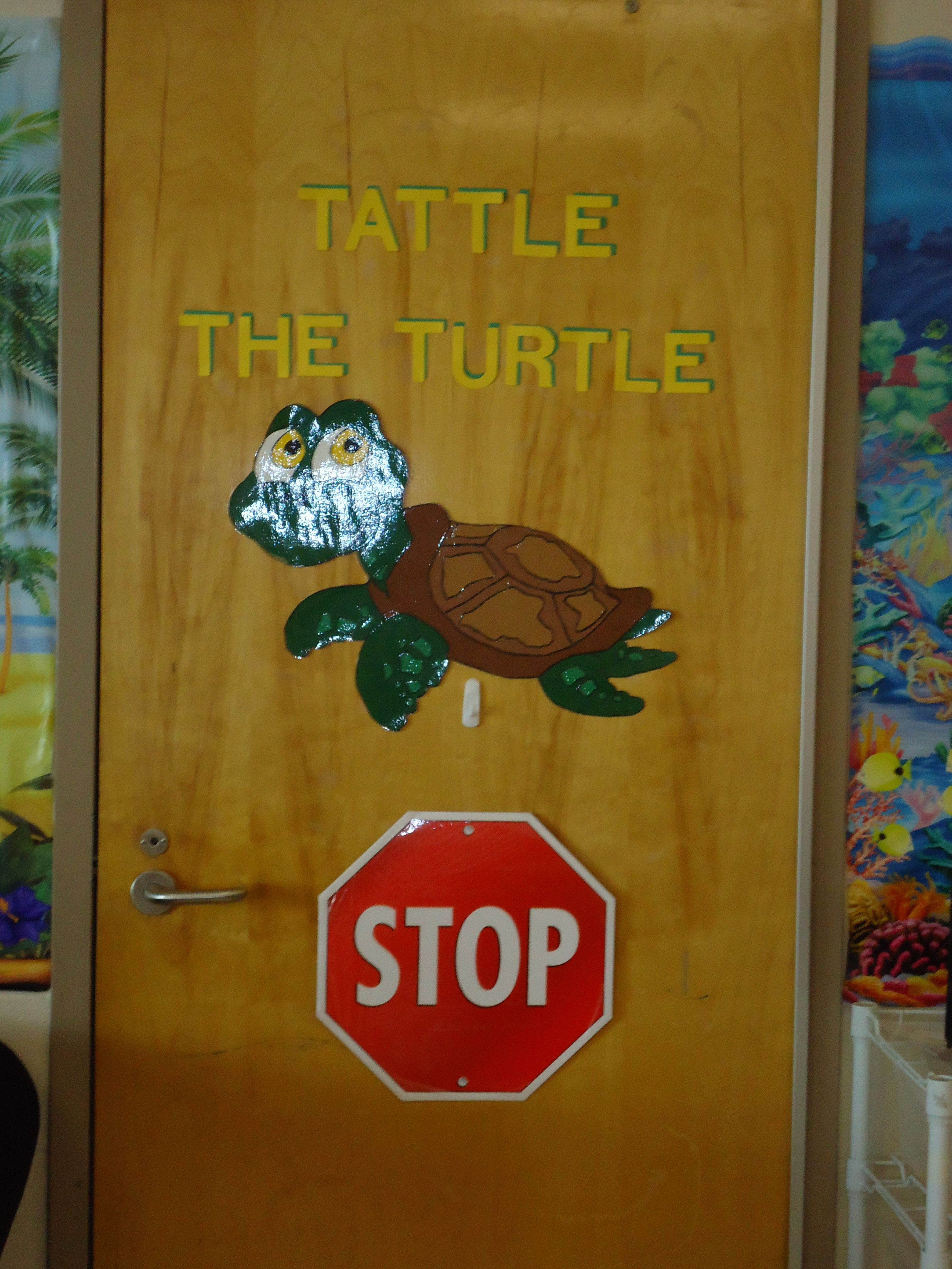 Tattle The Turtle The Students Talk To Tattle When They