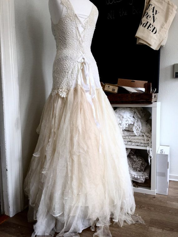Tattered Vintage Wedding Dresses
