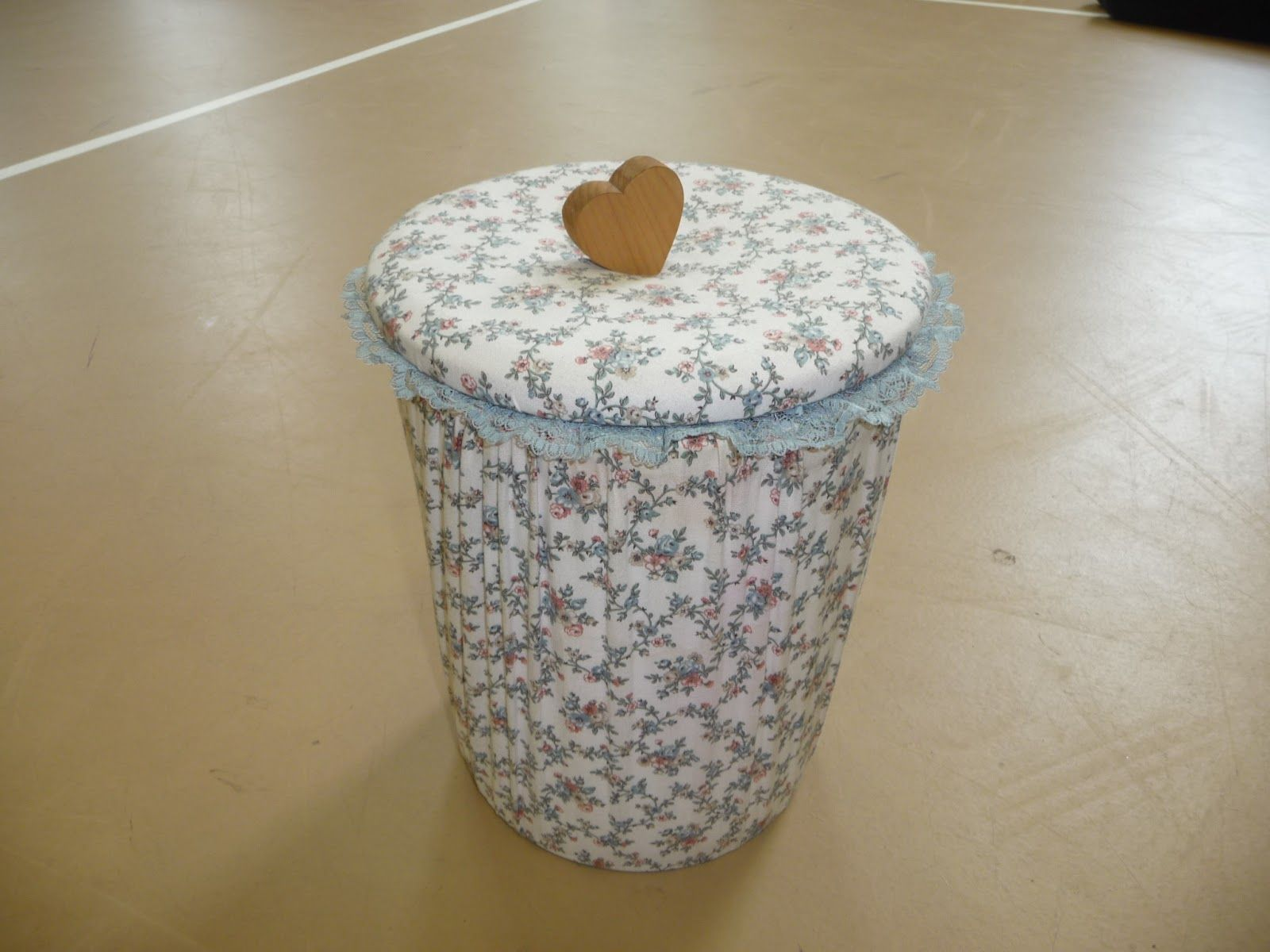 Buy Paper Craft Waste Baskets High Quality Decorative