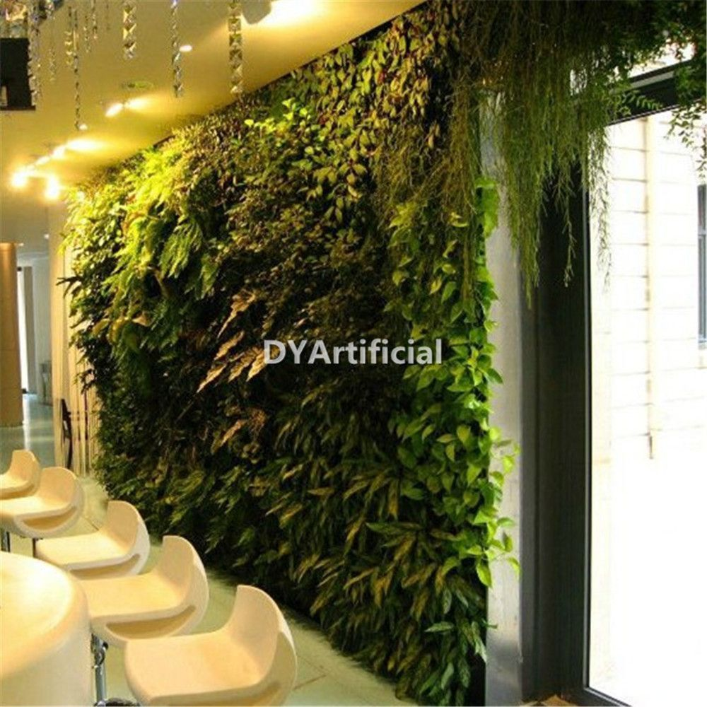 Indoor artificial plants wall accept oem and odm dongyi