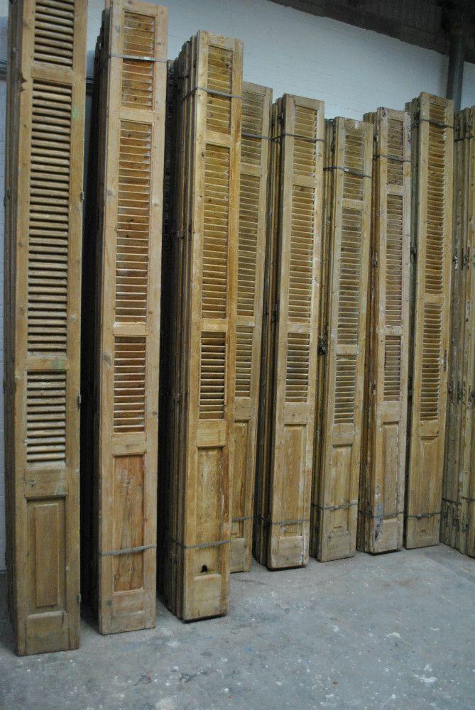 Vaak oude franse luiken , louvre luiken , shutters   Louvre luiken @FH64