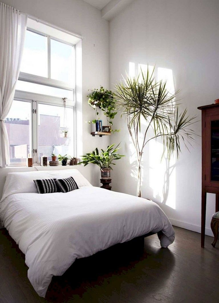 Feminine minimalist bedroom design 16 | Inspira Spaces