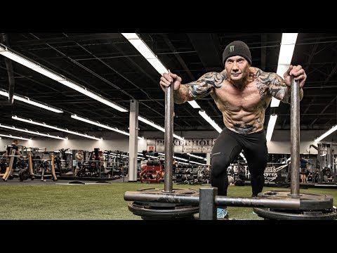 Dave Batista Traps Workout Dave Bautista Body Transformation