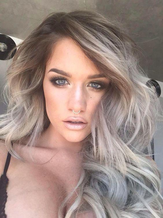Pictures of Dark Ash Blonde Hair Color #ashblondebalayage Pictures of Dark Ash Blonde Hair Color #ashblondebalayage