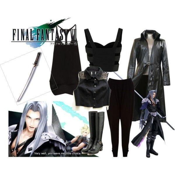 Sephiroth Final Fantasy VII Cosplay