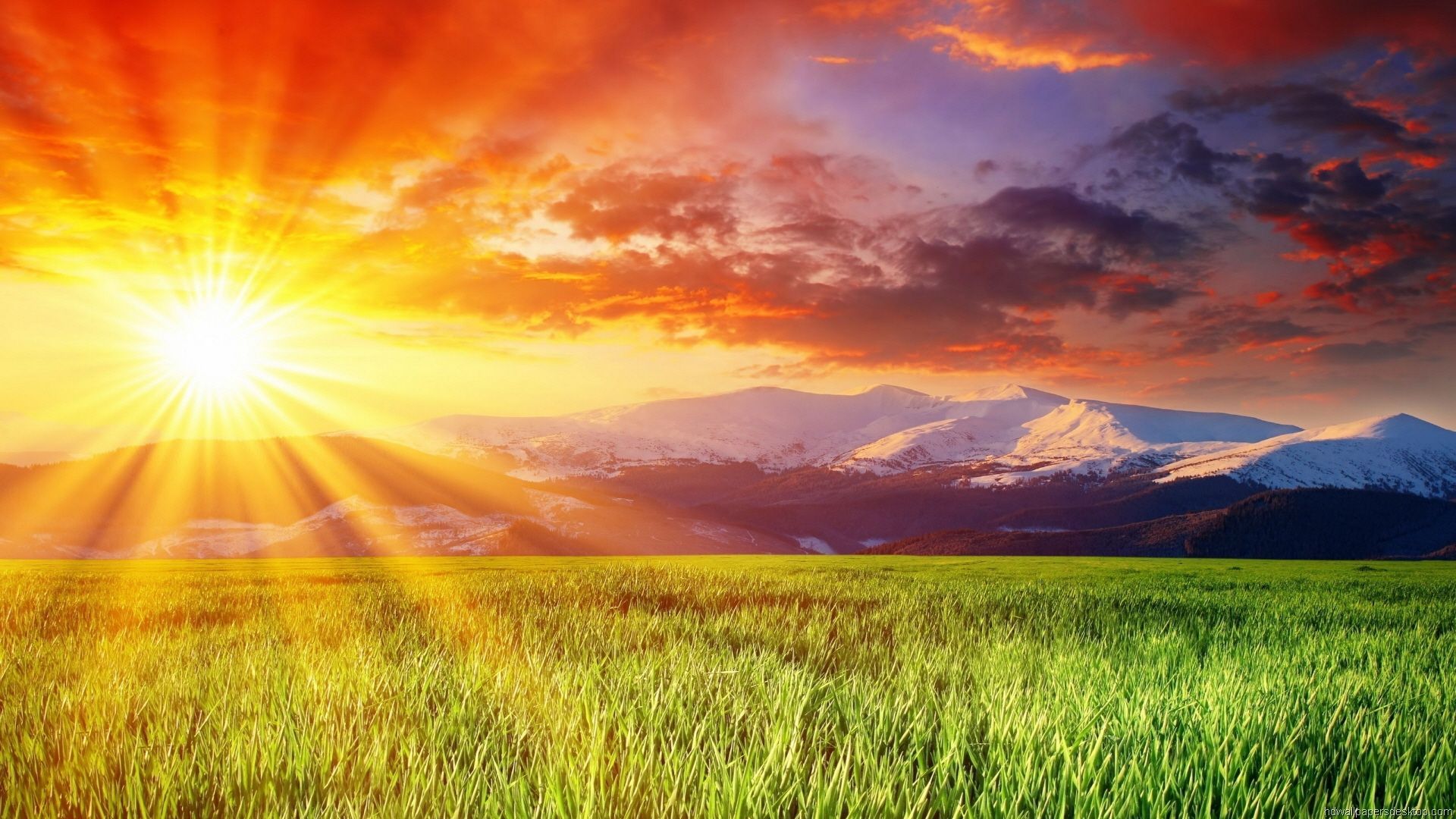 Nature HD wallpapers Shining Sun Skies Sunrise