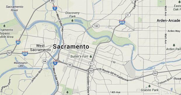 Sacramento Bike Trails Maps of Bike Routes in Sacramento CA
