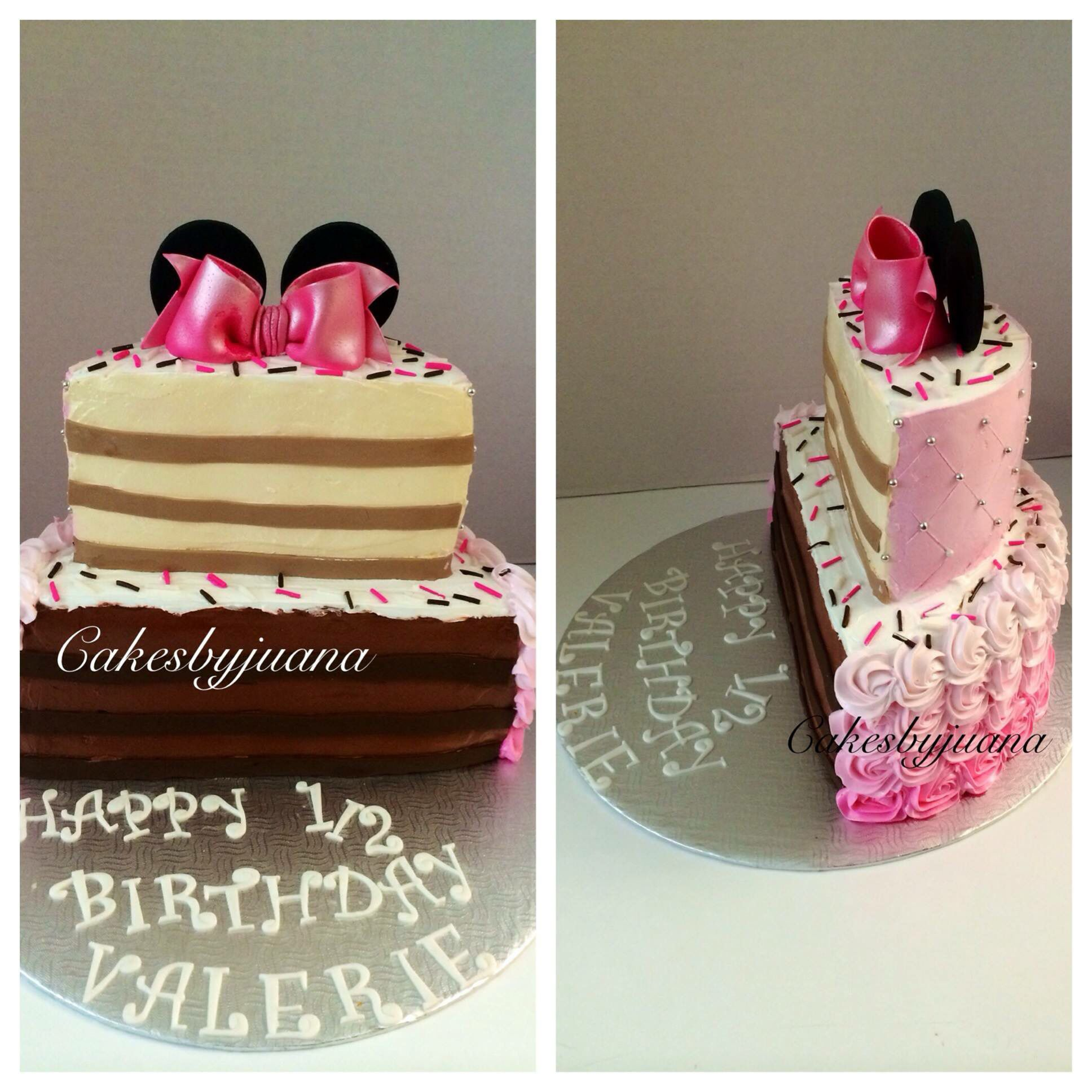 My Daughter Valerie S Half Birthday 6 Month Birthday Cake With