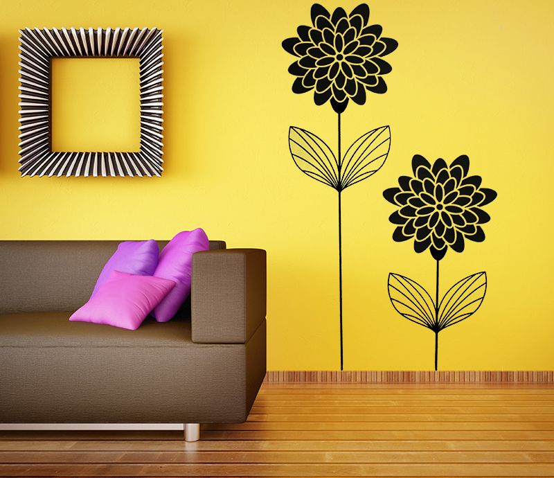 Flowers | Art walls, Flowers and Wall sticker