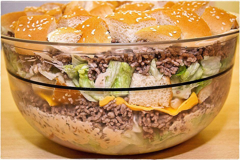 big mac salat sven geburtstag pinterest salat big mac salat und big mac. Black Bedroom Furniture Sets. Home Design Ideas