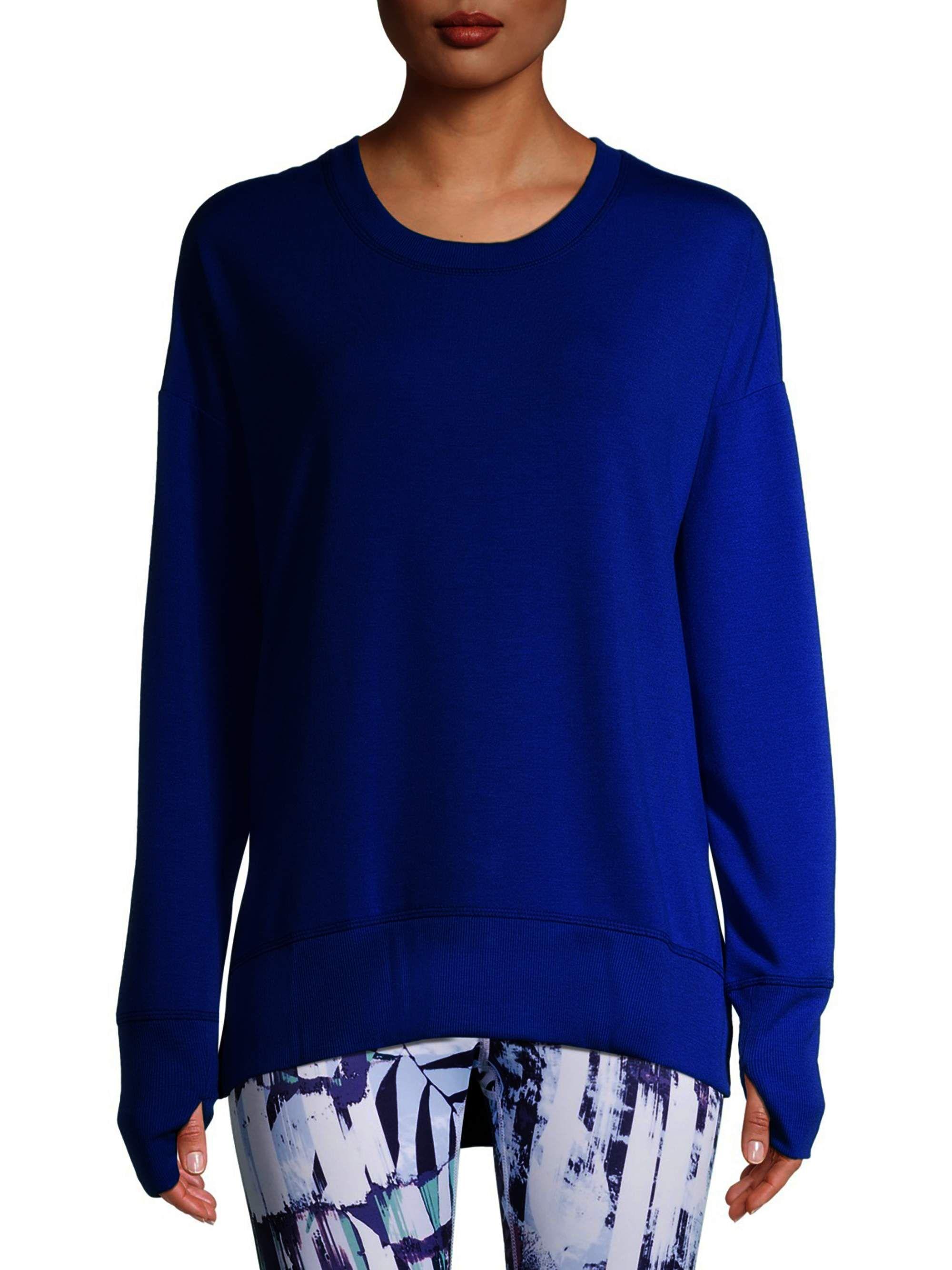 Avia Avia Women S Athleisure Long Sleeve Soft T Shirt Walmart Com Walmart Com Athleisure Women Long Sleeve T Shirts For Women [ 2667 x 2000 Pixel ]