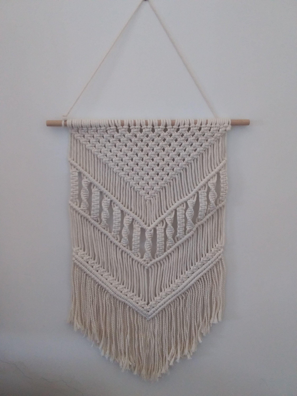 100% Handmade Macrame Wall Hanging Tapestry Macrame Wall Pendant