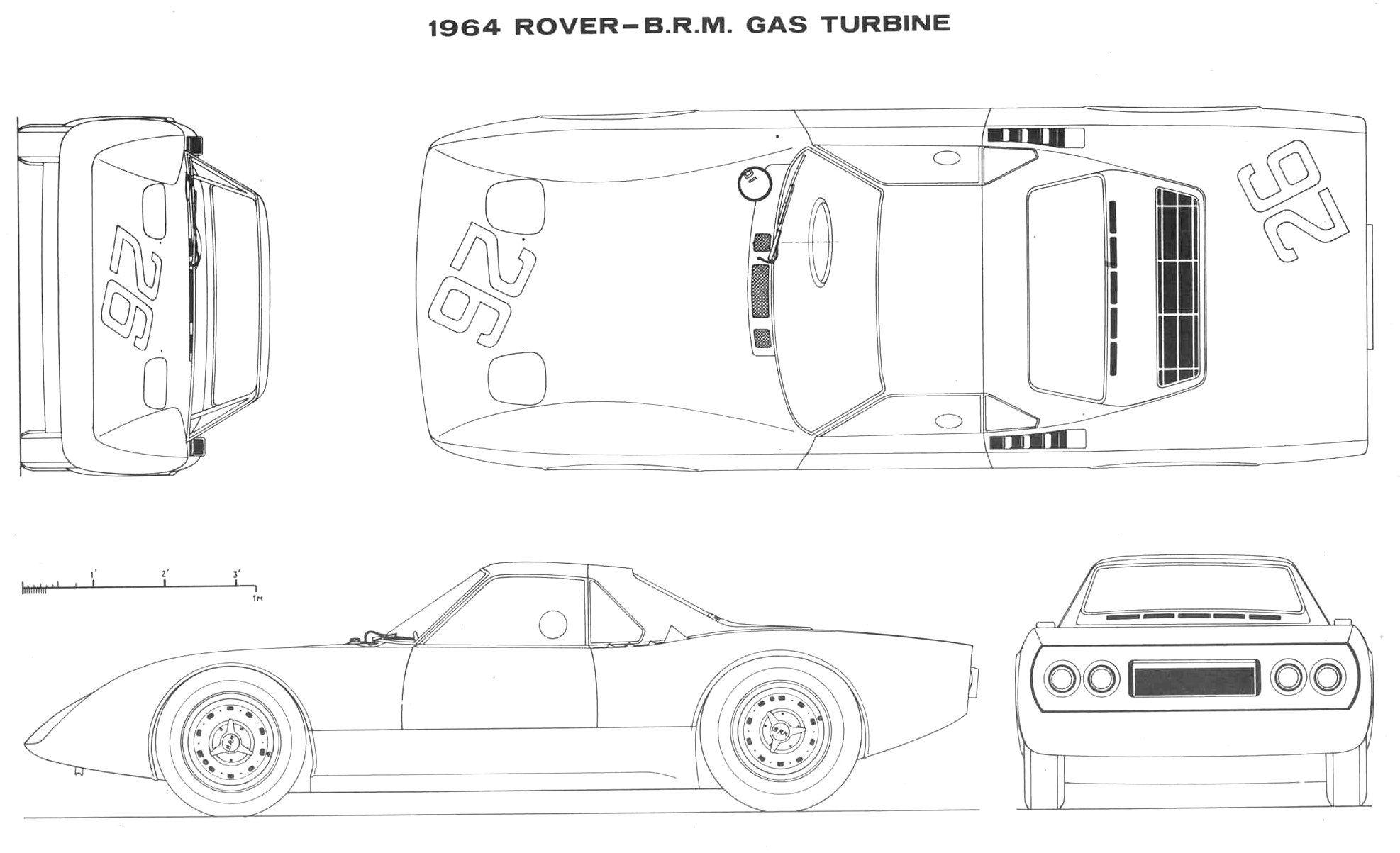 Rover BRM Turbine Roadster