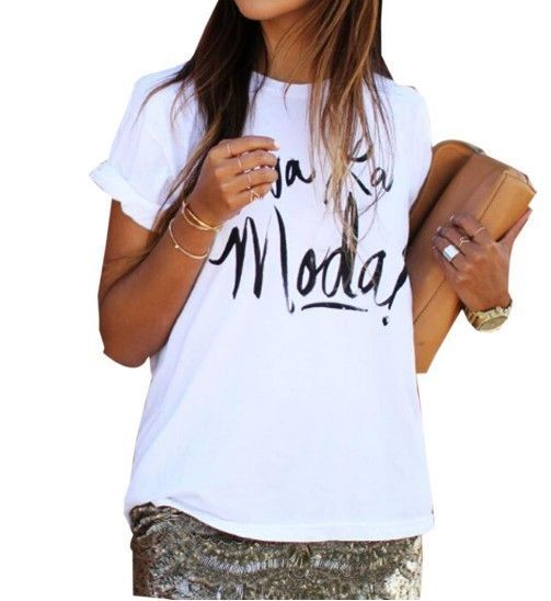 Making Magic Happen Print Letter T Shirt