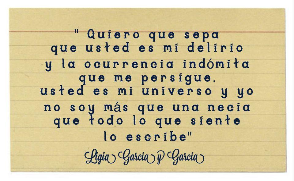 #LigiaGarcía
