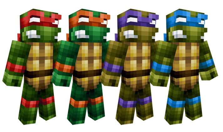 Tmnt All 4 Turtles Leonardo Donatello Raphael Michelangelo