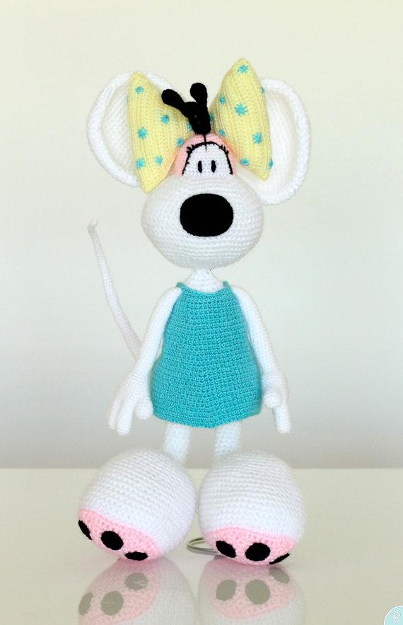 PATTERN: Diddlina amigurumi crochet pattern