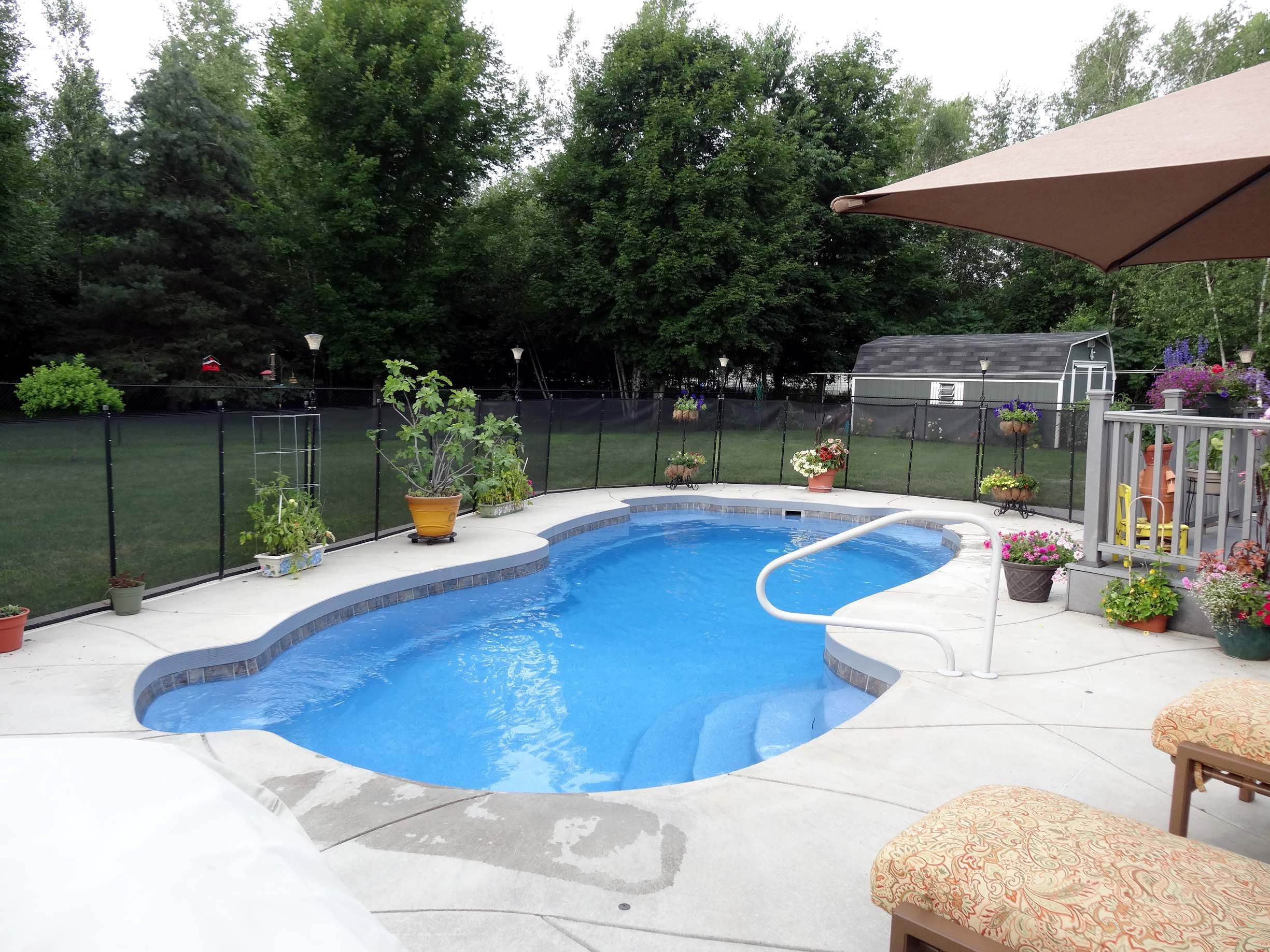 Viking 14 X 30 Rockport Inground Pool Located In Gowanda Ny