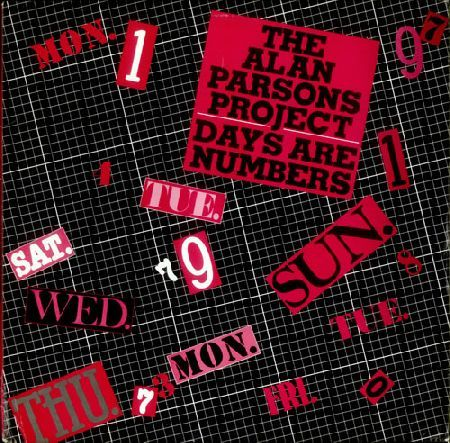 Alan Parsons Project Days Are Numbers 1985 Usa Alan Parsons