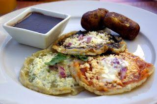 Picaditas, real mexican food, mmm!