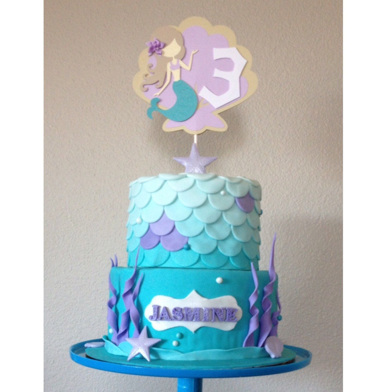 Cake Mermaid Under The Sea