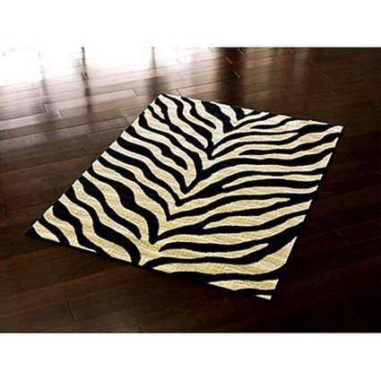 Alfombra para ba o zebr alfombras pinterest - Alfombras animal print ...