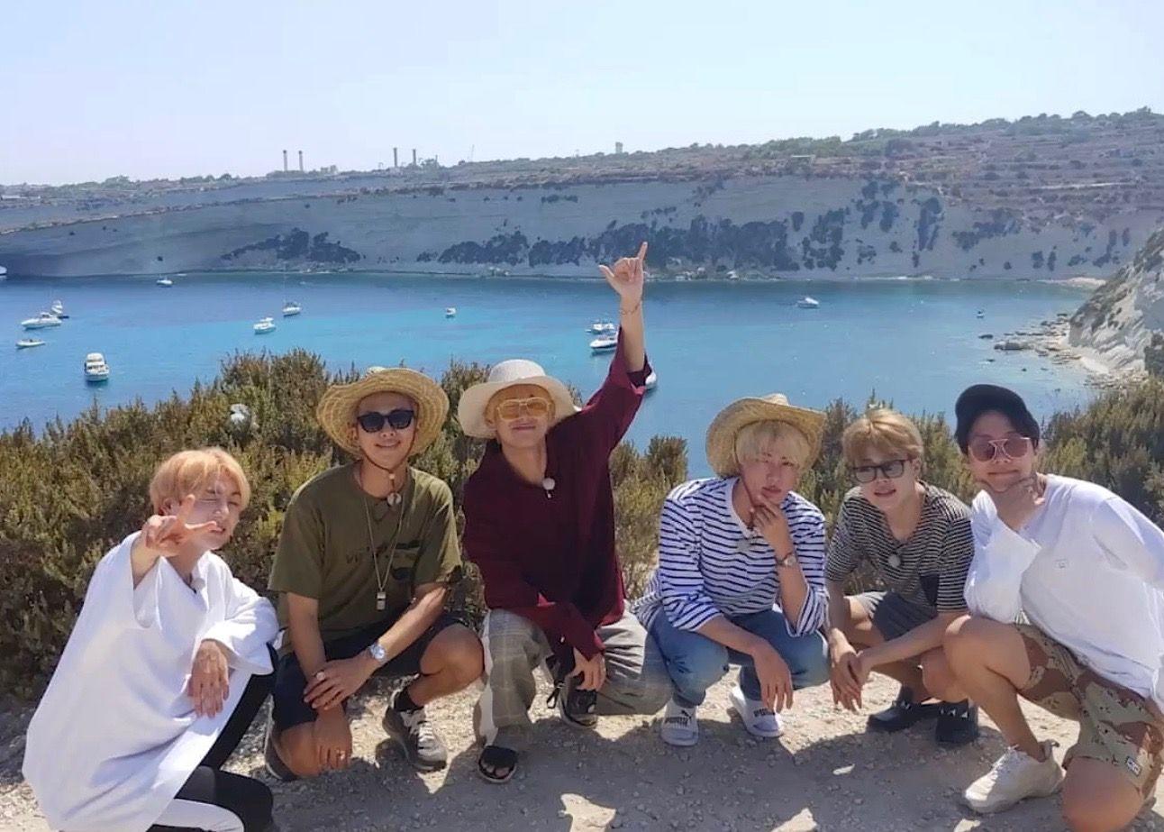 Bts In Malta Bts Bon Voyage Bts Photo Foto Bts